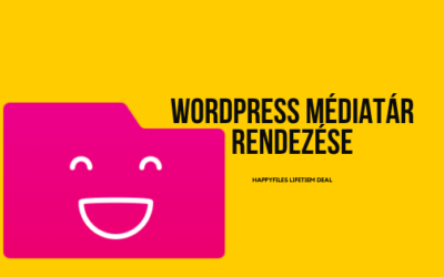 WordPress médiatár rendezése – HappyFiles
