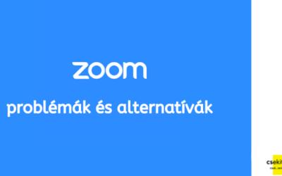 Zoom problémák – így használd, valamint mutatunk két alternatívát