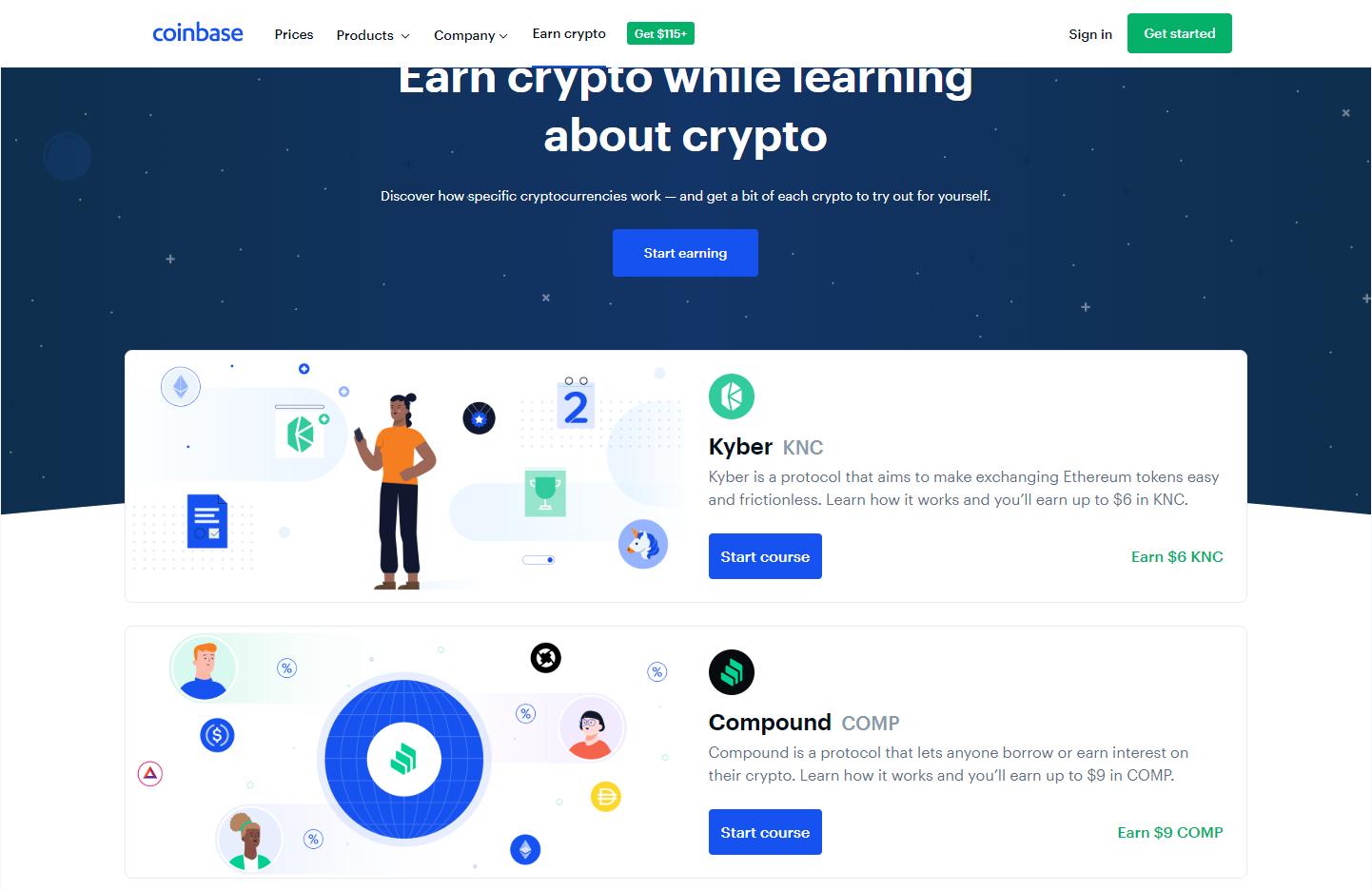 coinbase earn